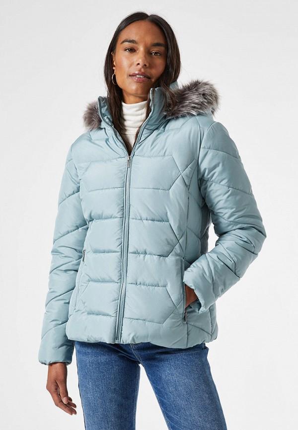 женская куртка dorothy perkins, голубая
