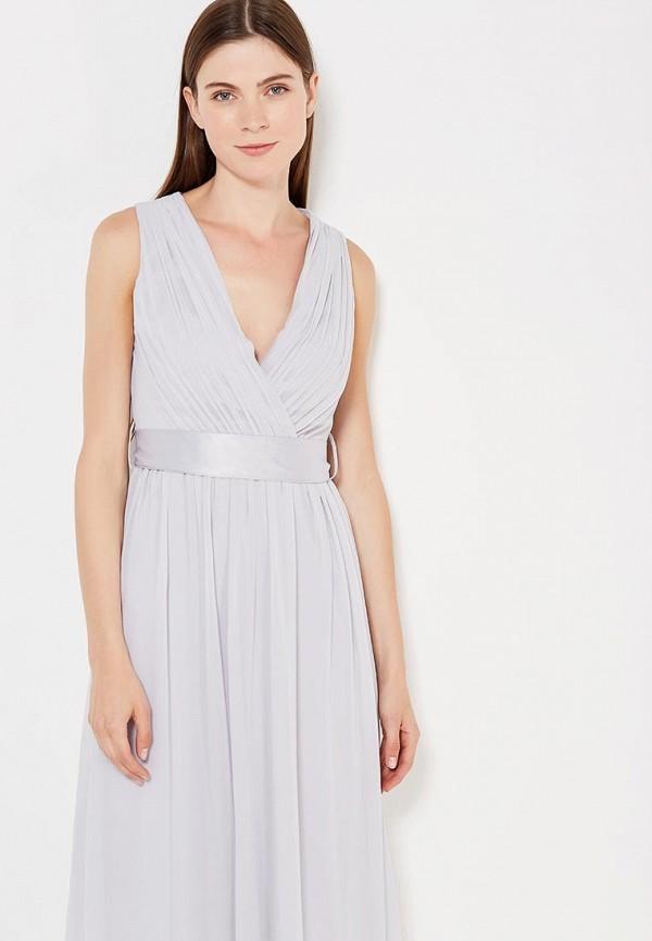 Фото 5 - женское платье Dorothy Perkins серого цвета