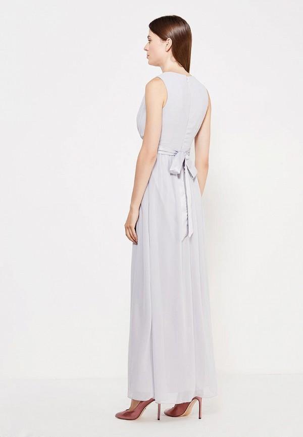 Фото 6 - женское платье Dorothy Perkins серого цвета