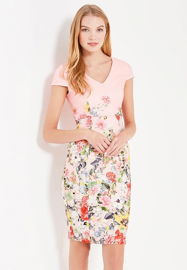 Купить Платье Dorothy Perkins, do005ewubq43, розовый, Осень-зима 2017/2018