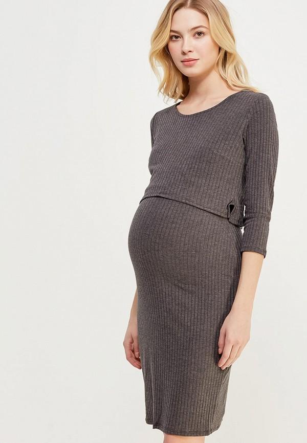 Купить Платье Dorothy Perkins Maternity, do028ewahyv8, серый, Весна-лето 2018
