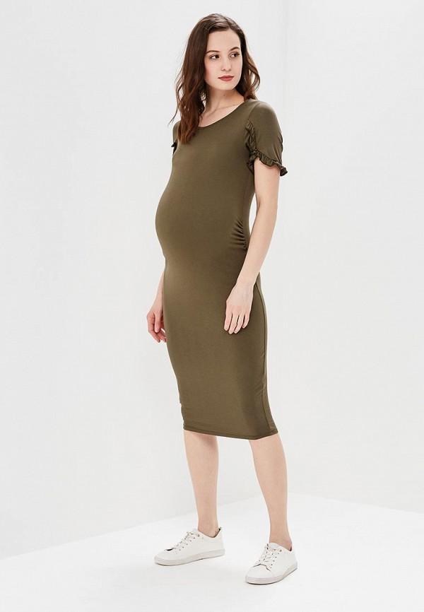 Купить Платье Dorothy Perkins Maternity, do028ewazvf3, хаки, Весна-лето 2018