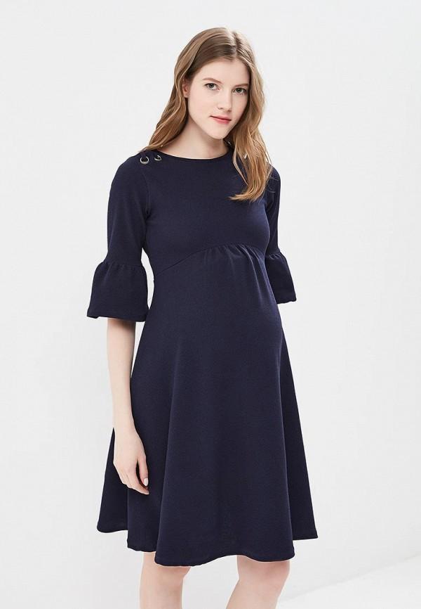 Купить Платье Dorothy Perkins Maternity, do028ewbeul1, синий, Весна-лето 2018