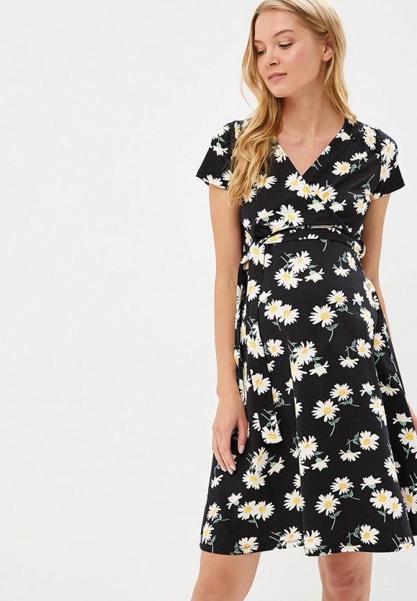 Купить Платье Dorothy Perkins Maternity, do028ewbonh0, черный, Весна-лето 2018