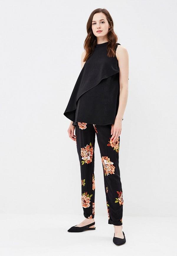 Фото 3 - женские брюки Dorothy Perkins Maternity черного цвета