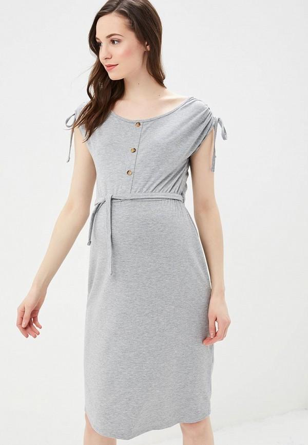 женское платье для беременных dorothy perkins maternity, серое