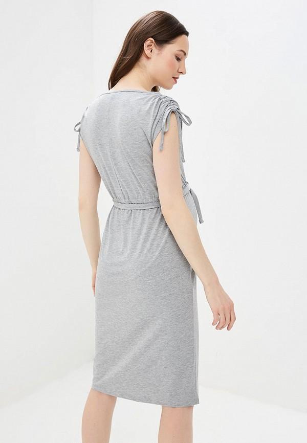 Фото 3 - женское платье Dorothy Perkins Maternity серого цвета