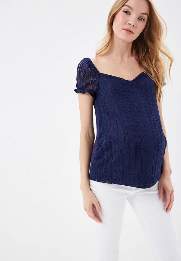 женская блузка dorothy perkins maternity, синяя