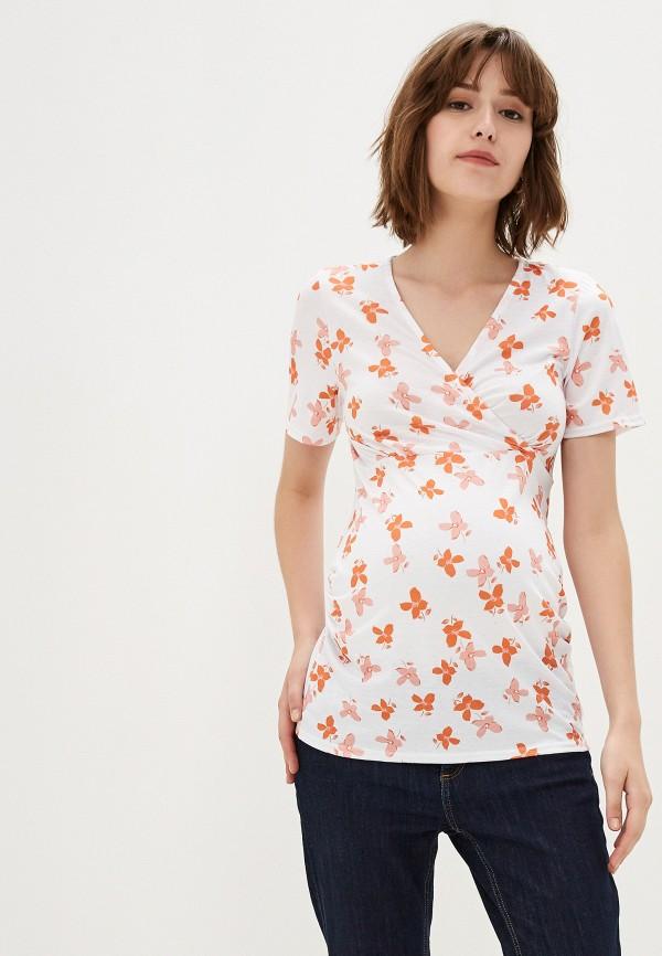 женская футболка для беременных dorothy perkins maternity, белая
