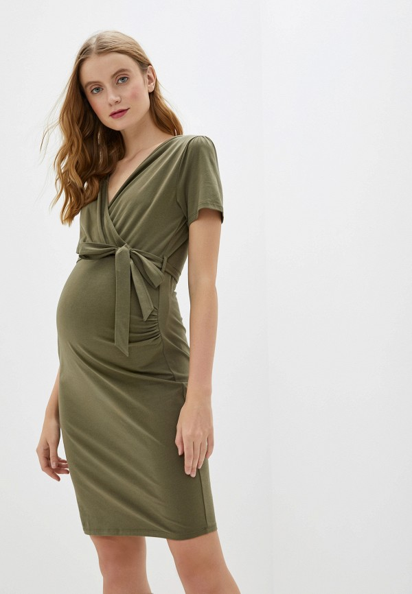 женское повседневные платье dorothy perkins maternity, хаки