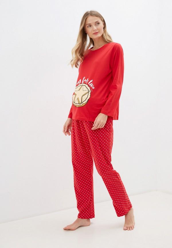 женская пижама dorothy perkins maternity, красная