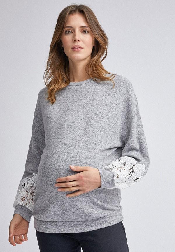 женский свитшот dorothy perkins maternity, серый