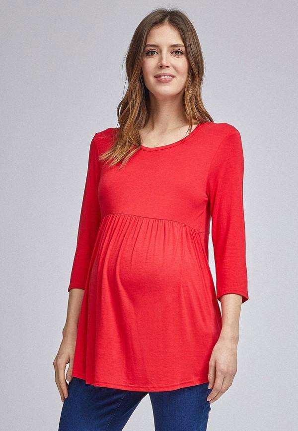 женский лонгслив dorothy perkins maternity, красный