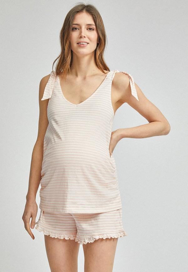 женская пижама dorothy perkins maternity, розовая
