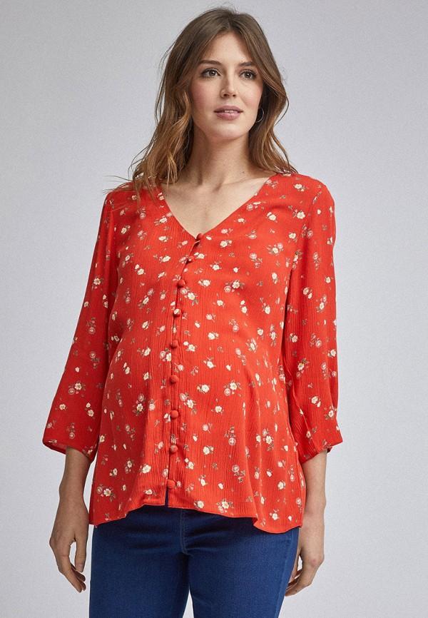 женская блузка dorothy perkins maternity, красная