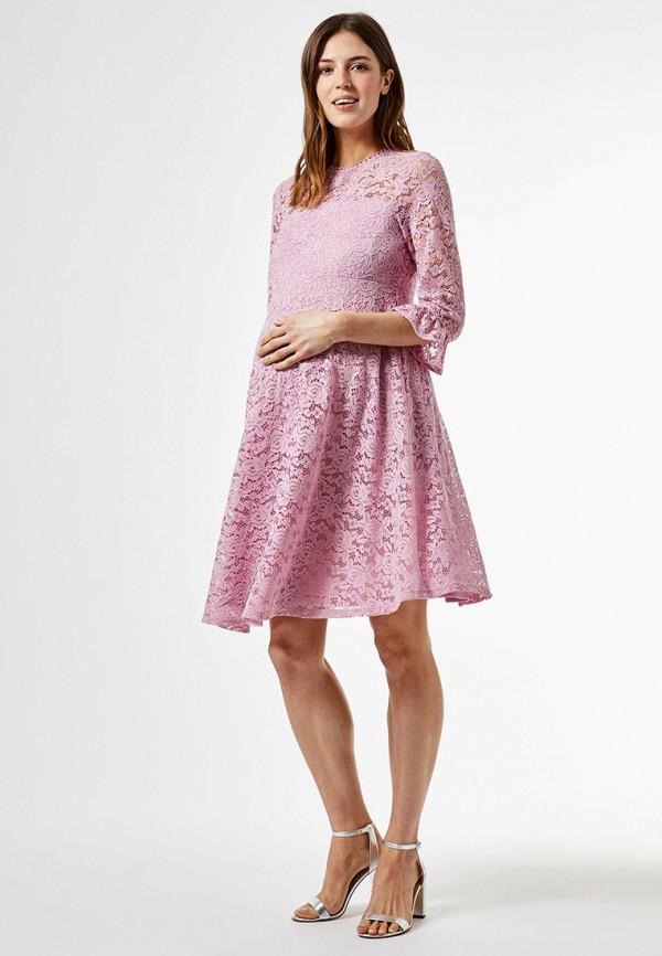 женское повседневные платье dorothy perkins maternity, розовое