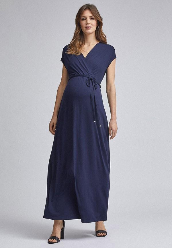 женское повседневные платье dorothy perkins maternity, синее