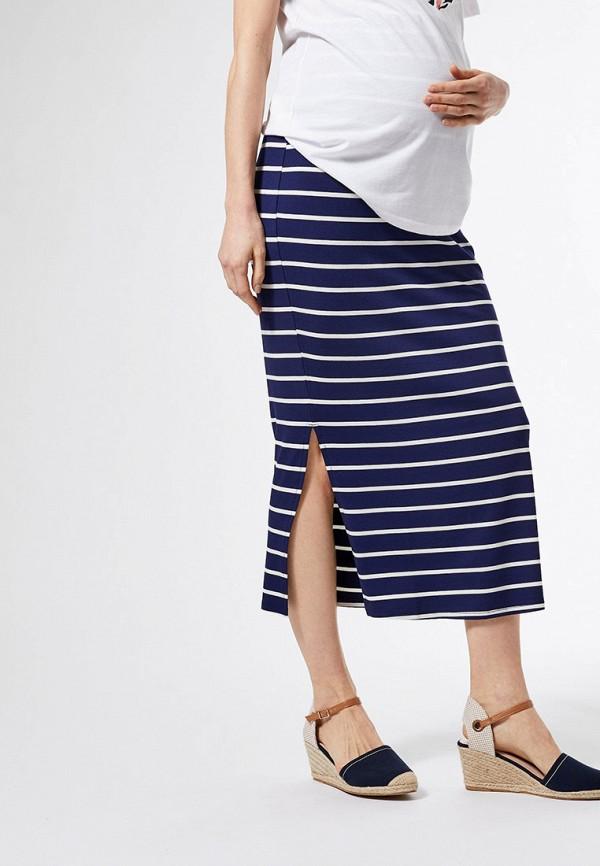 женская юбка dorothy perkins maternity, синяя