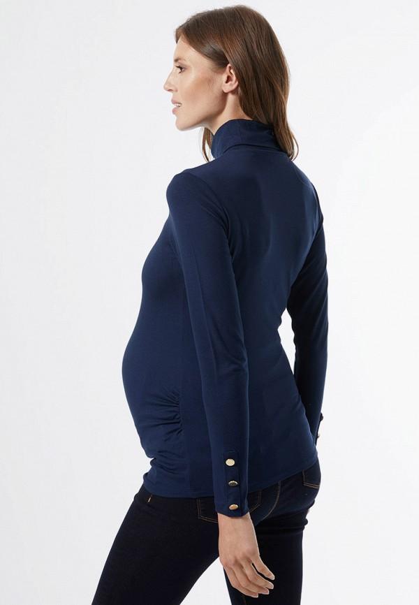 женская водолазка dorothy perkins maternity, синяя