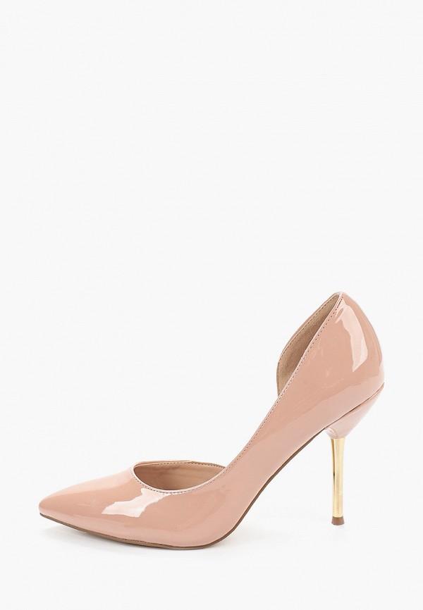 женские туфли dorothy perkins curve, розовые