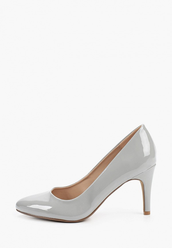 женские туфли-лодочки dorothy perkins curve, серые