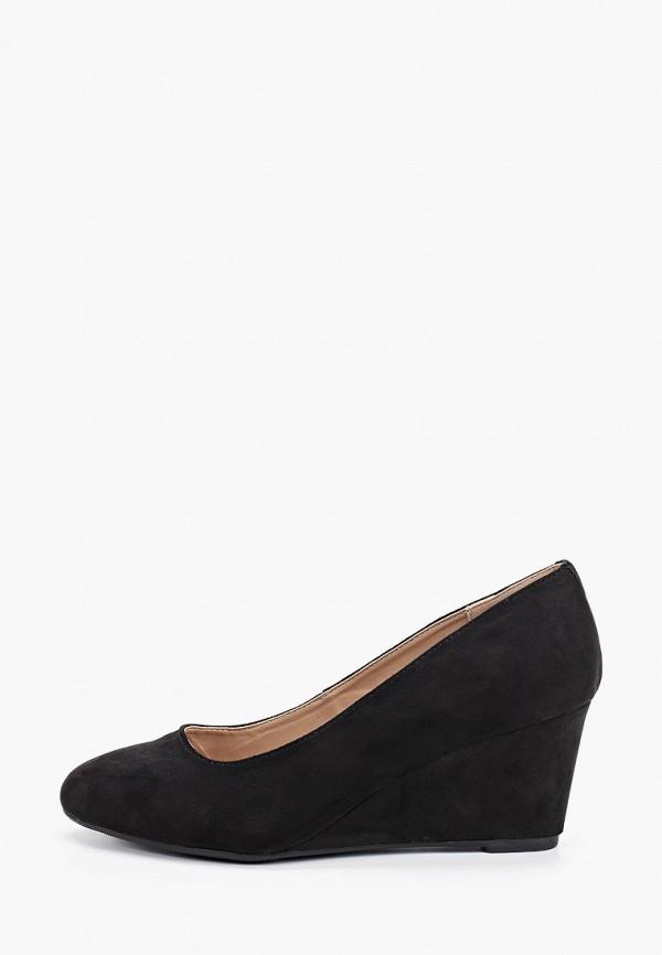 женские туфли с закрытым носом dorothy perkins curve, черные