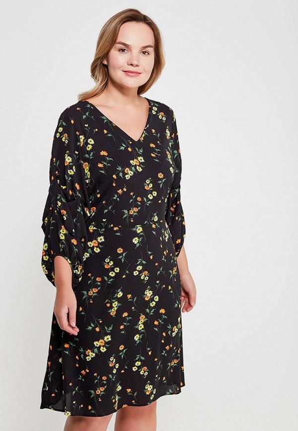 Купить Платье Dorothy Perkins Curve, do029ewahyv1, черный, Весна-лето 2018