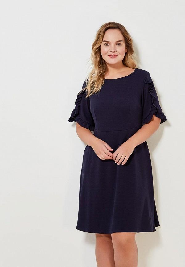 Купить Платье Dorothy Perkins Curve, DO029EWAJED6, синий, Весна-лето 2018