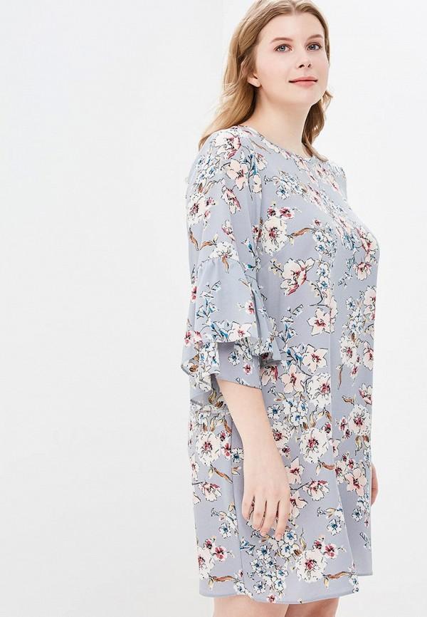 Купить Платье Dorothy Perkins Curve, do029ewbaiq6, серый, Весна-лето 2018