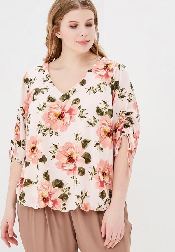 Купить Блуза Dorothy Perkins Curve, do029ewbaiq8, розовый, Весна-лето 2018