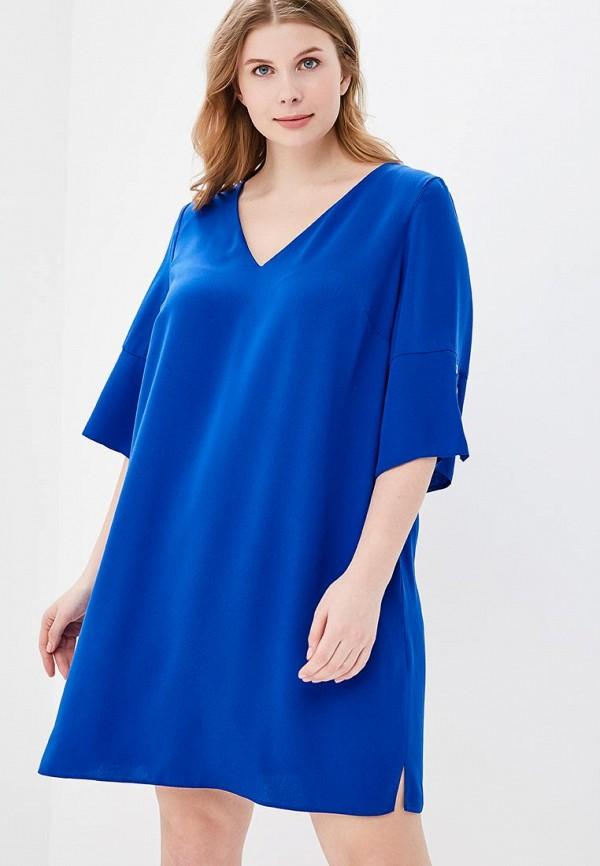 Купить Платье Dorothy Perkins Curve, do029ewbair1, синий, Весна-лето 2018