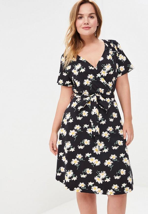 Купить Платье Dorothy Perkins Curve, do029ewblxk4, черный, Весна-лето 2018