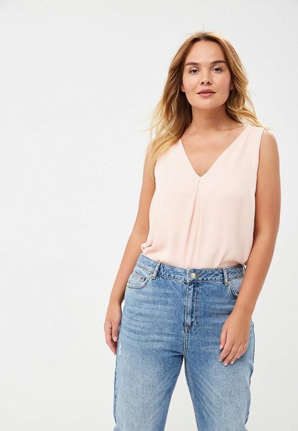 Купить Топ Dorothy Perkins Curve, do029ewbonf0, розовый, Весна-лето 2018