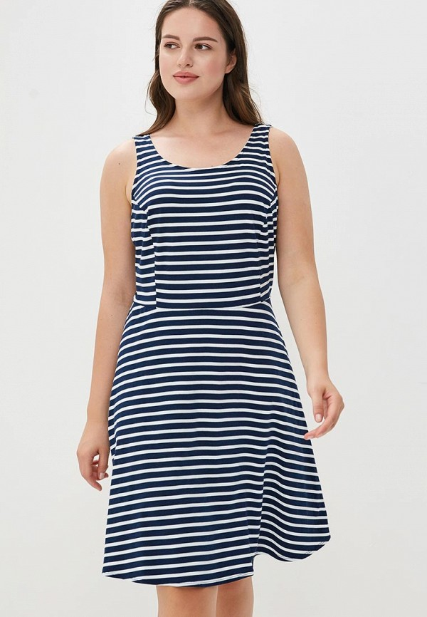 Купить Платье Dorothy Perkins Curve, do029ewbsbk4, синий, Осень-зима 2018/2019