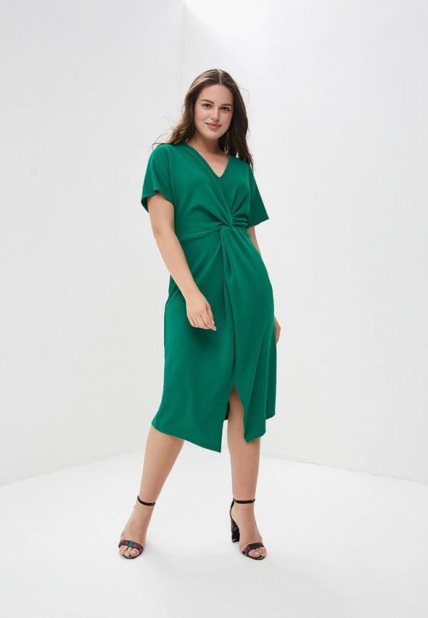 Купить Платье Dorothy Perkins Curve, do029ewbsbk7, зеленый, Осень-зима 2018/2019