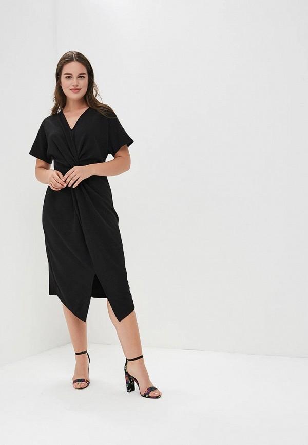 Купить Платье Dorothy Perkins Curve, do029ewbsbl4, черный, Осень-зима 2018/2019