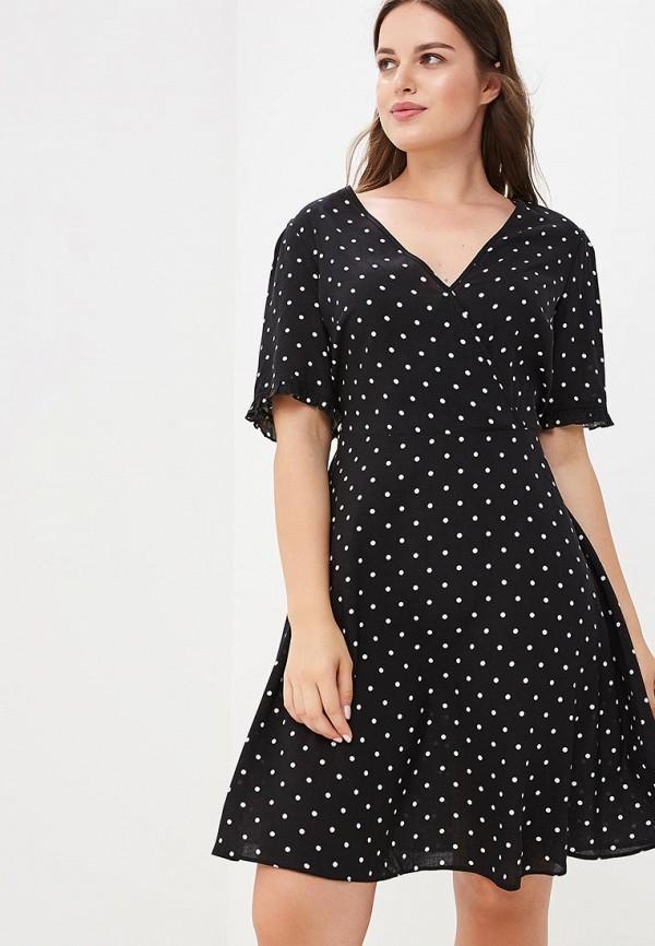 Купить Платье Dorothy Perkins Curve, DO029EWBYCY2, черный, Осень-зима 2018/2019