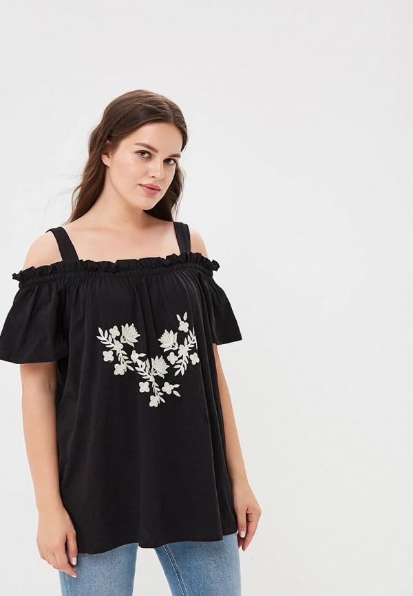 Купить Топ Dorothy Perkins Curve, do029ewbycy8, черный, Осень-зима 2018/2019