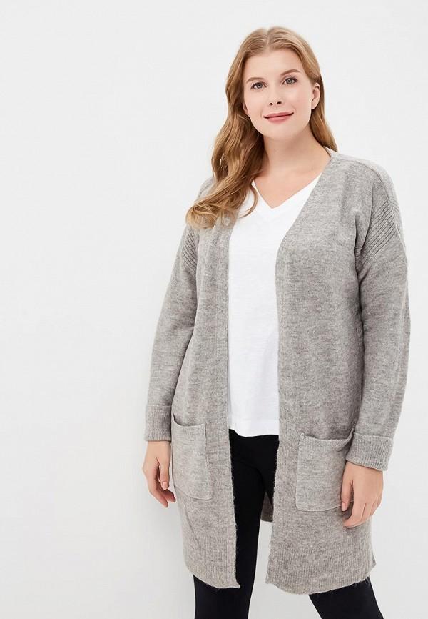 Купить Кардиган Dorothy Perkins Curve, do029ewcpbm1, серый, Осень-зима 2018/2019