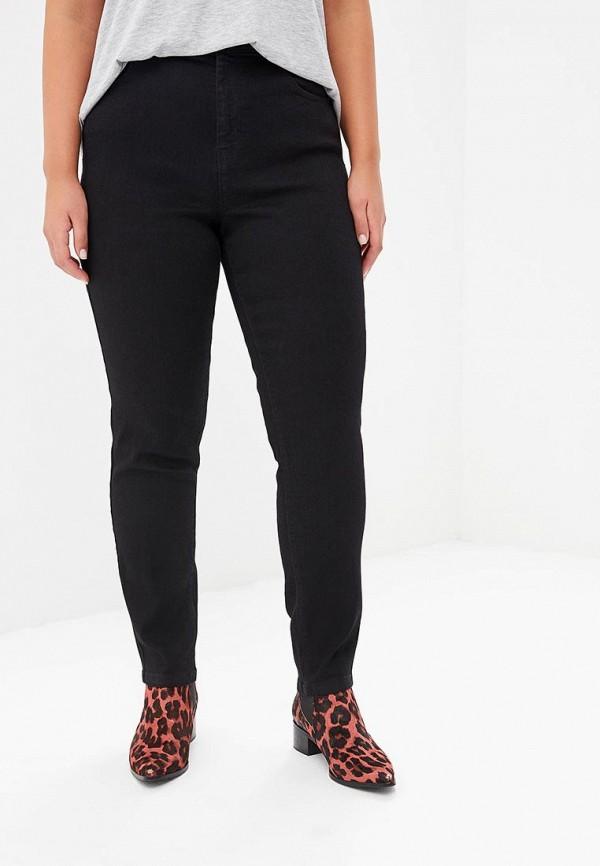 женские прямые джинсы dorothy perkins curve, черные