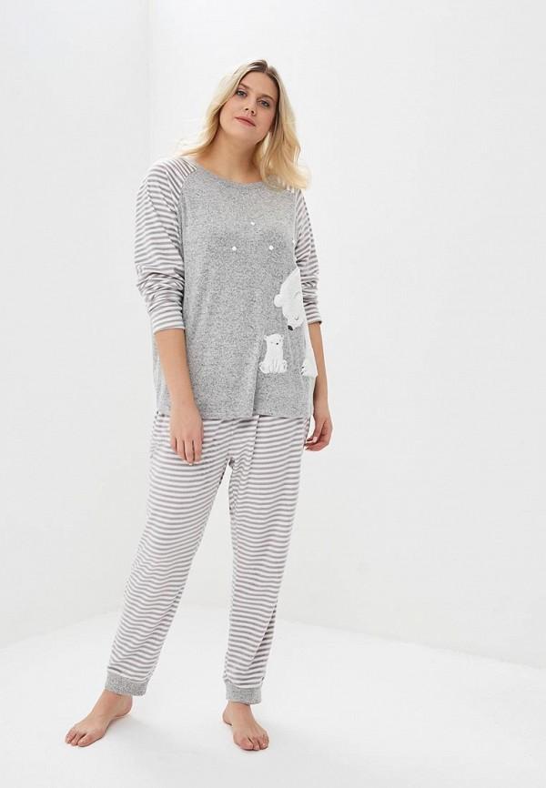 Купить Пижама Dorothy Perkins Curve, do029ewdmzk2, серый, Весна-лето 2019