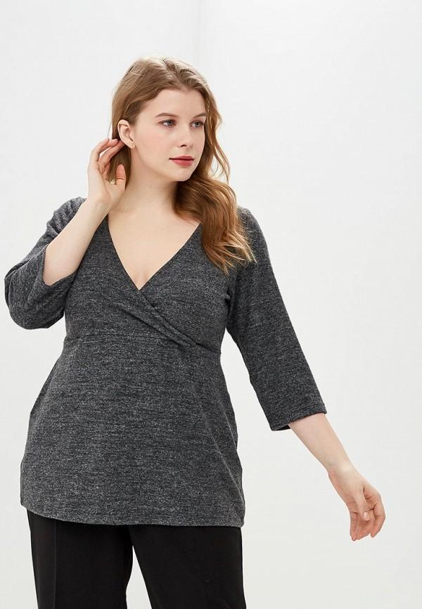 женский пуловер dorothy perkins curve, серый