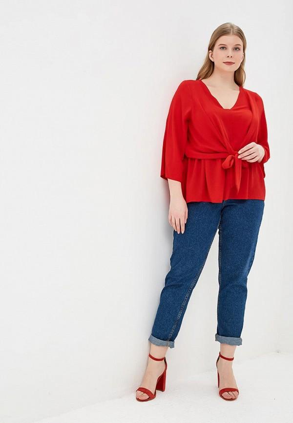 Фото 2 - женскую блузку Dorothy Perkins Curve красного цвета