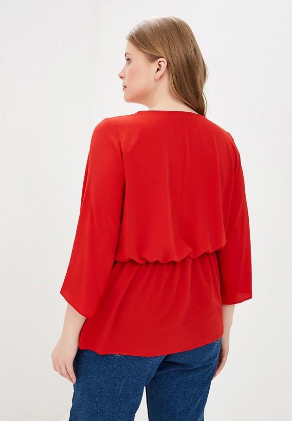 Фото 3 - женскую блузку Dorothy Perkins Curve красного цвета
