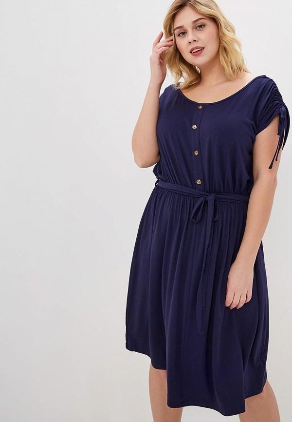 женское платье dorothy perkins curve, синее