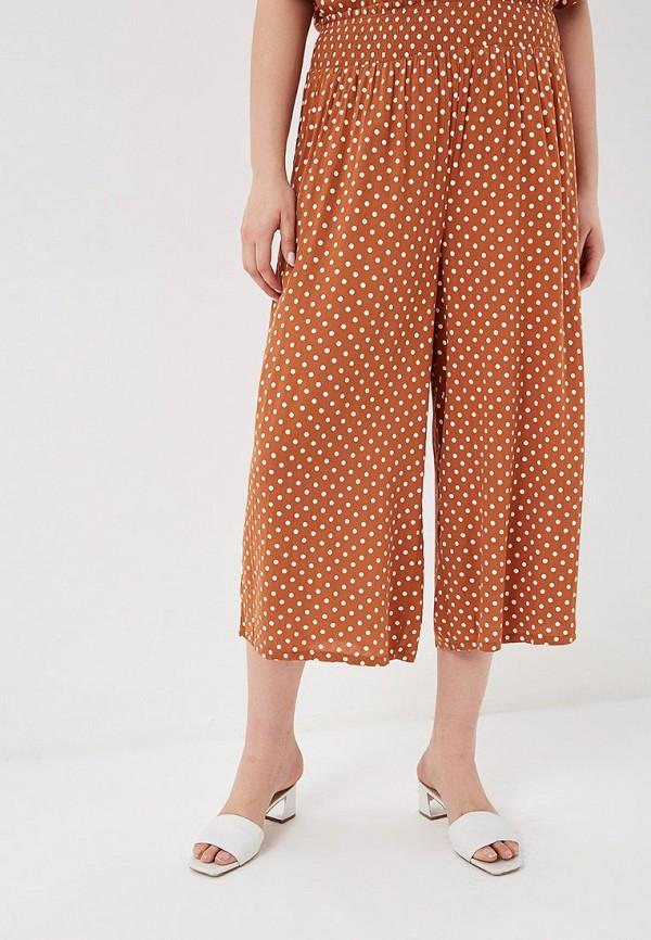Фото - женские брюки Dorothy Perkins Curve коричневого цвета