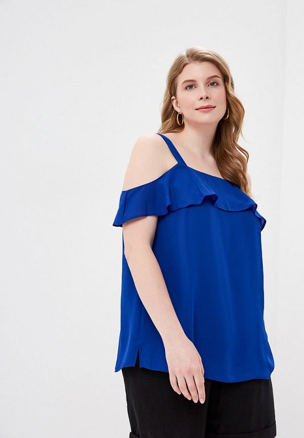 женский топ dorothy perkins curve, синий