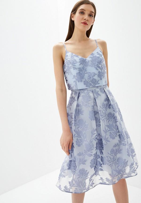 женское повседневные платье dorothy perkins curve, голубое