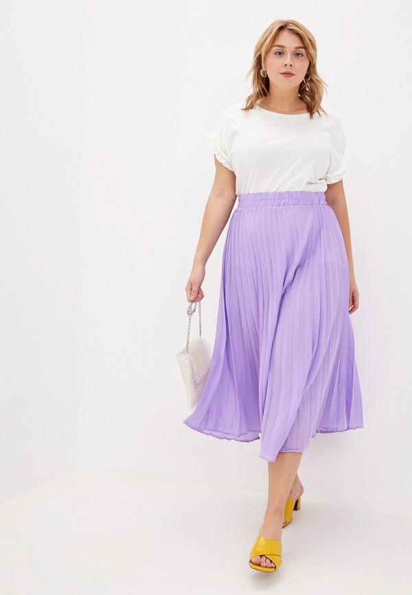 Фото 2 - женскую футболку Dorothy Perkins Curve белого цвета