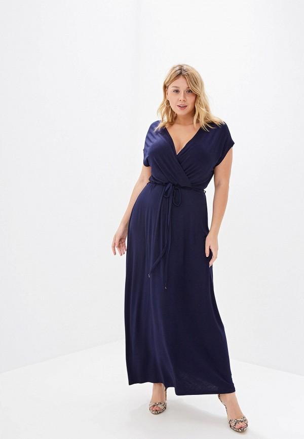 Фото - Женское платье Dorothy Perkins Curve синего цвета